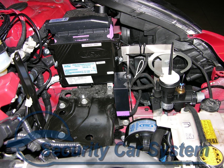 instalacja gazowa w samochodzie